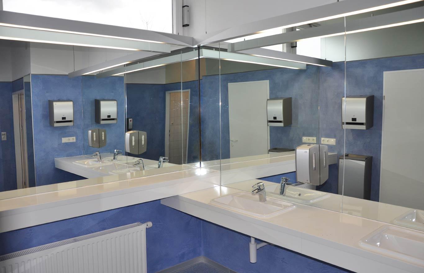 Barrierefreies Bauen Tirol: Stift Wilten Damen-WC