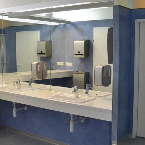 Barrierefreies Bauen in Tirol: Stift Wilten Damen WC
